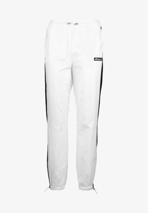 TULIPO - Tracksuit bottoms - white