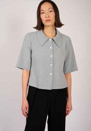 DUNA  - Button-down blouse - light grey
