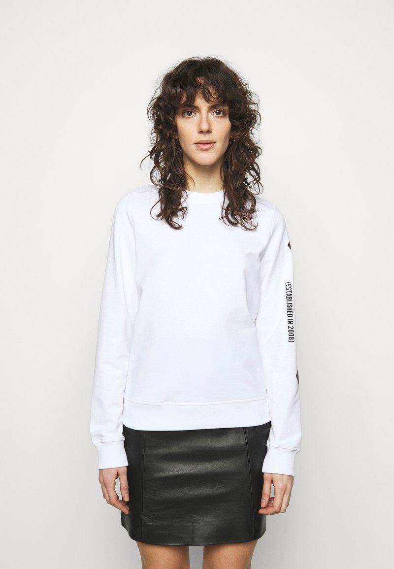 Love Moschino - Sweatshirt - optical white