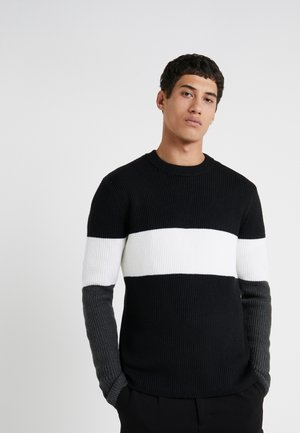 ZOREN - Jumper - black multi