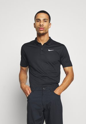 DRY VICTORY SOLID SLIM - Sports shirt - black/white