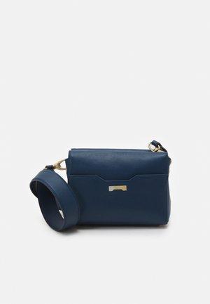 POUCH - Across body bag - dark blue