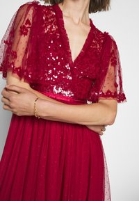 Needle & Thread - PATCHWORK BODICE BALLERINA DRESS EXCLUSIVE - Cocktail dress / Party dress - deep red - 6
