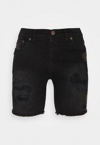 Nominal - REY  - Jeansshorts - black - 0