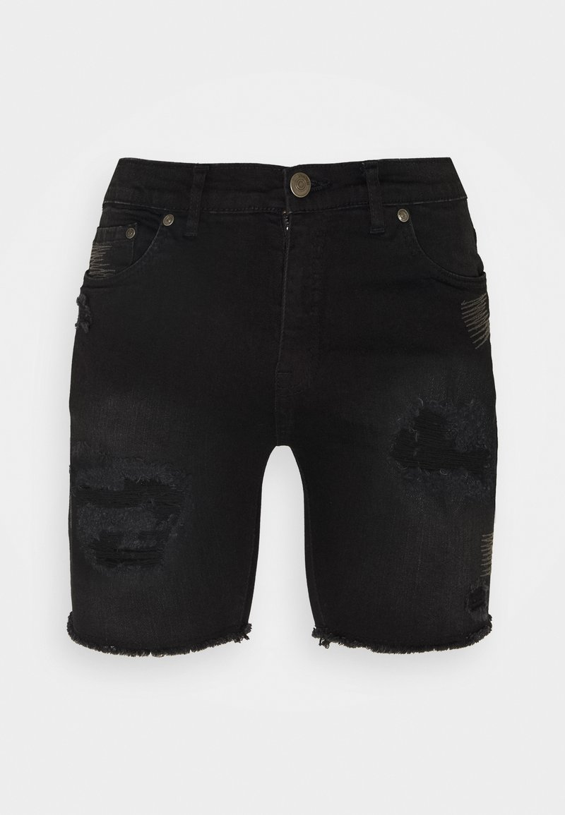 Nominal - REY  - Jeansshorts - black
