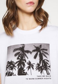 Even&Odd - Print T-shirt - white - 5