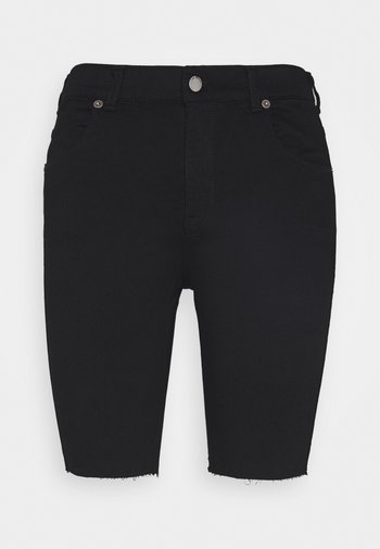 LEXY BICYCLE - Shorts di jeans - black