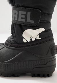 Sorel - CHILDRENS - Zimní obuv - black/charcoal - 2