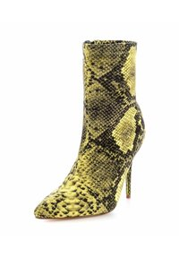 PRIMA MODA - VELLETRI  - High heeled ankle boots - yellow - 1