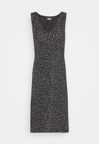 TOM TAILOR - Jersey dress - black/offwhite - 4