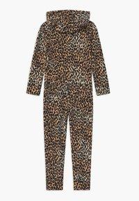 Claesen's - GIRLS ONESIE - Pyjamas - brown - 1