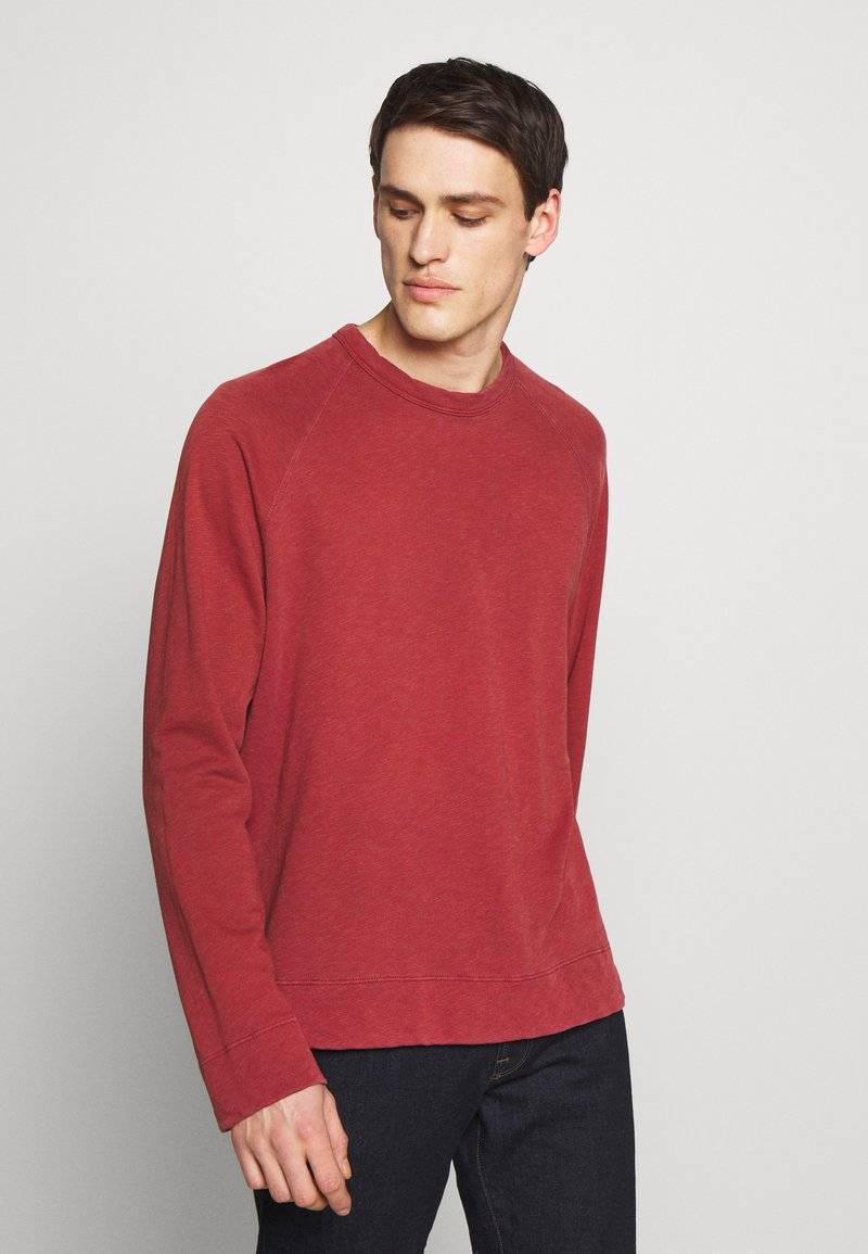 James Perse - VINTAGE RAGLAN - Sweatshirt - claret