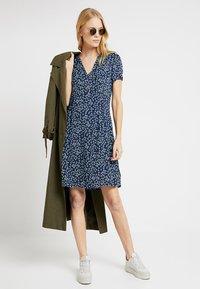 Esprit - FLUENT - Shirt dress - navy - 1