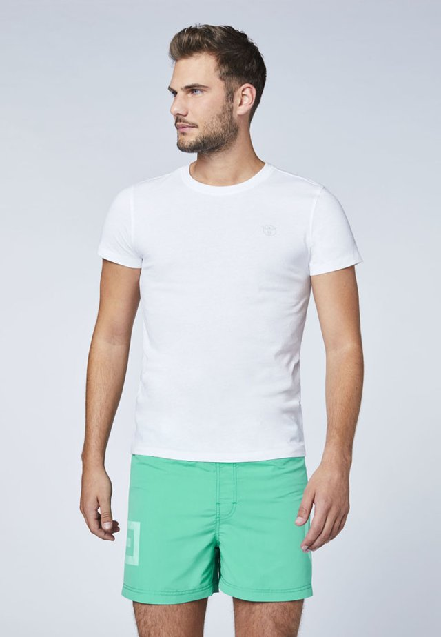 DOPPELPACK  - T-shirt basique - bright white