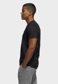 adidas Performance - DAME LOGO T-SHIRT - Print T-shirt - black - 2
