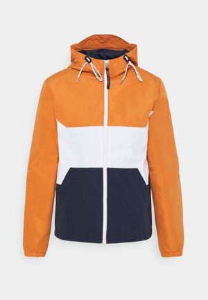 JORLUKE JACKET - Allvädersjacka - blue/white/orange