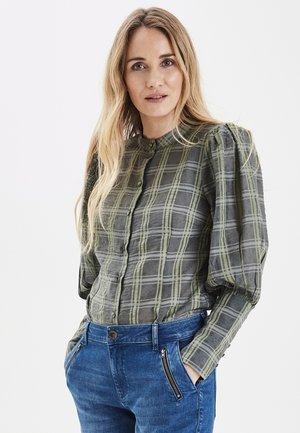 PXJOCO  - Button-down blouse - feldspar