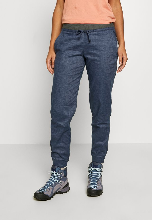HAMPI ROCK PANTS - Stoffhose - dolomite blue
