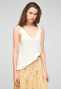 s.Oliver - Top - offwhite - 0