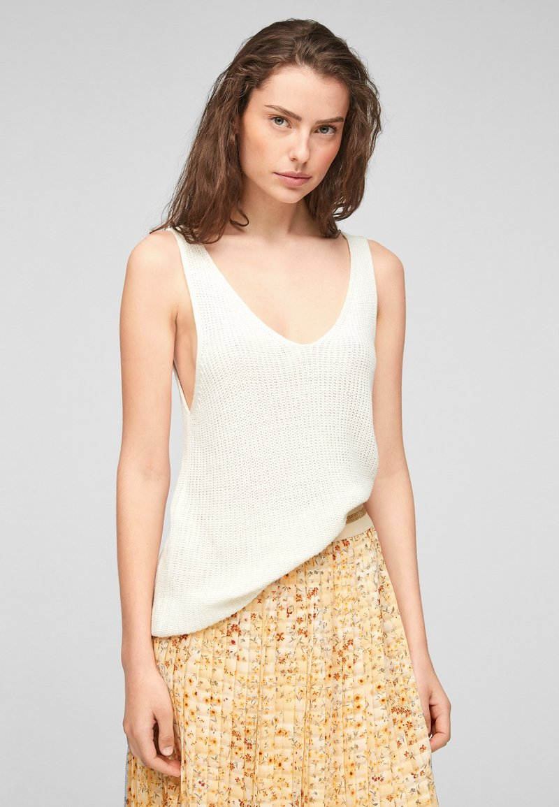 s.Oliver - Top - offwhite
