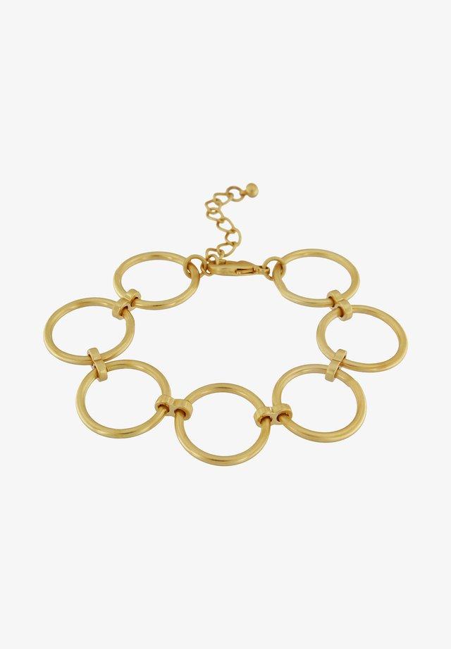 TABITHA OPEN CIRCLE - Rannekoru - gold plating