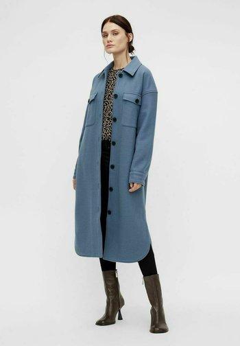 Classic coat - blue mirage