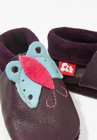 POLOLO - BUTTERFLY - First shoes - aubergine - 2