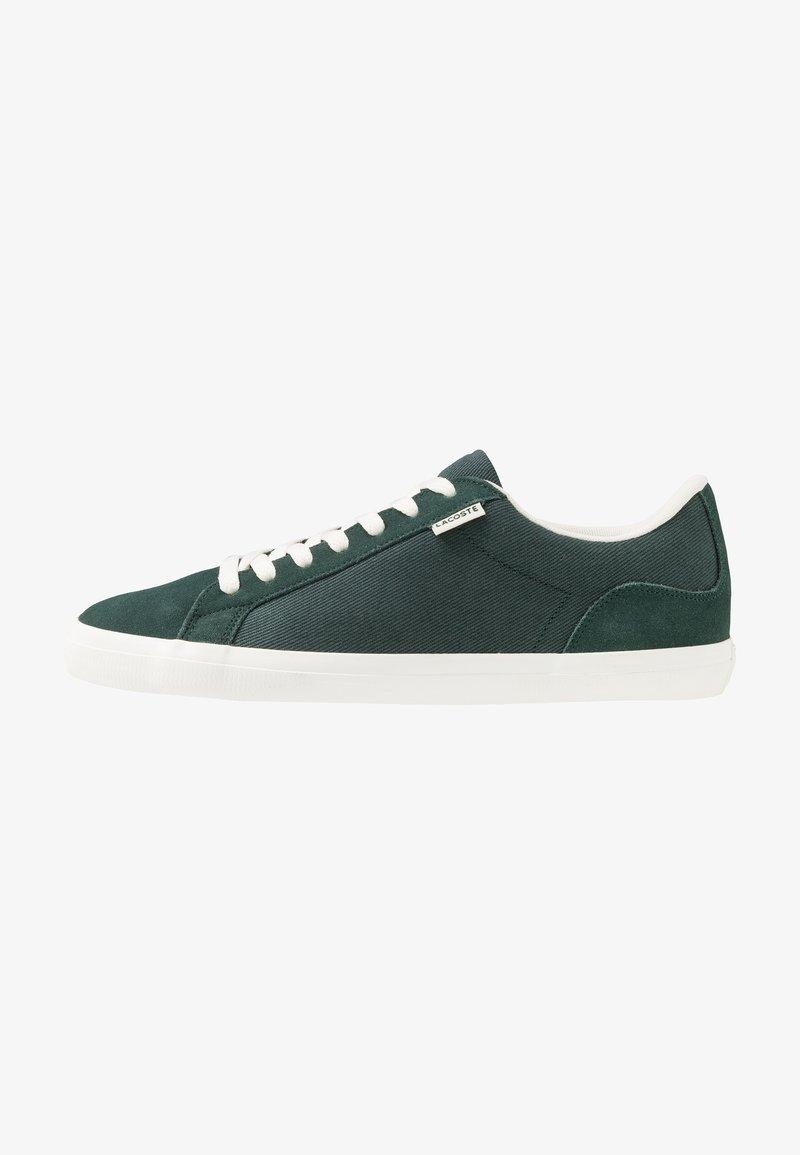 Lacoste - LEROND - Sneakers - dark green/offwhite