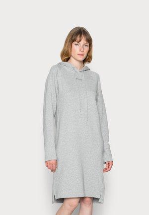 Day dress - white grey melange