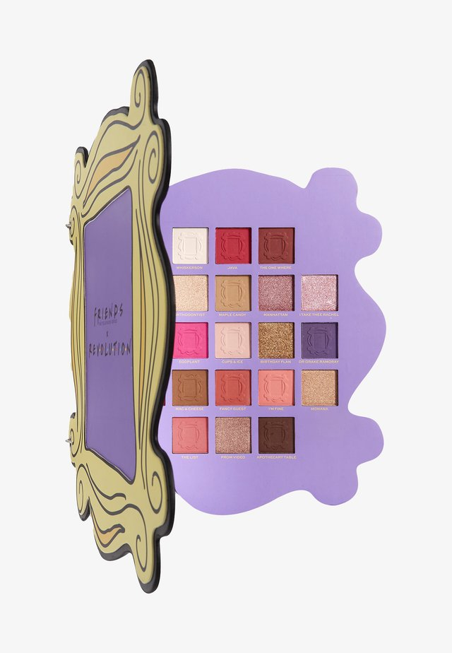REVOLUTION X FRIENDS OPEN THE DOOR SHADOW PALETTE - Palette occhi - -