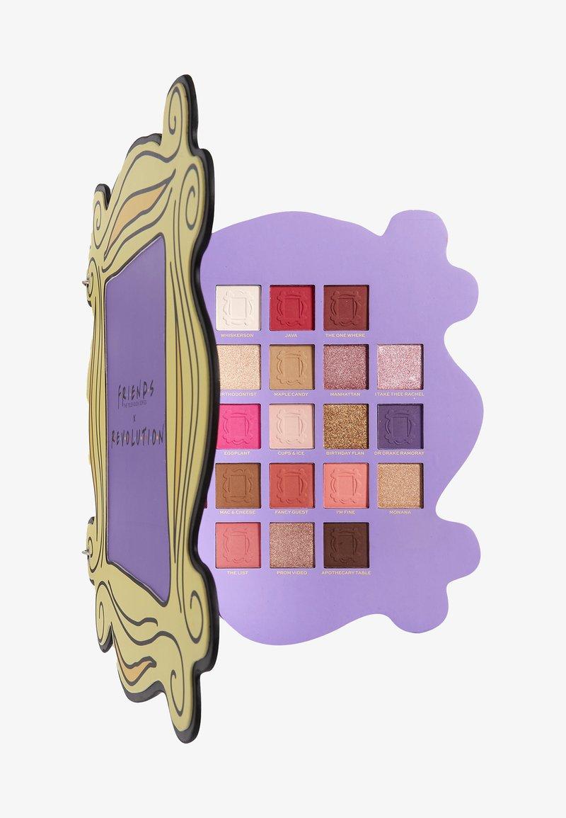 Make up Revolution - REVOLUTION X FRIENDS OPEN THE DOOR SHADOW PALETTE - Eyeshadow palette - -