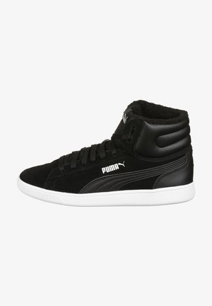 Sneakers hoog - black/white