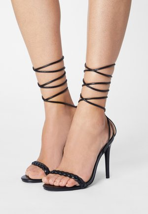 KINIKA - Sandaler med høye hæler - black