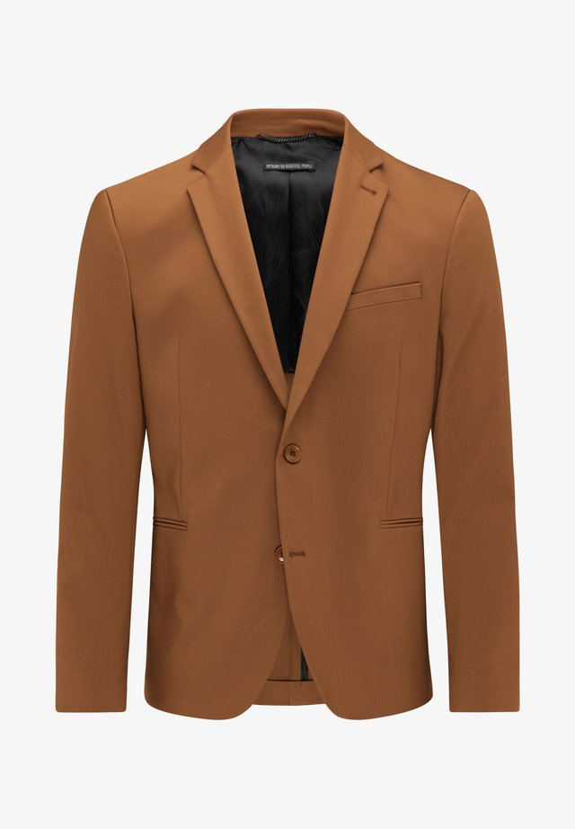 HURLEY - Blazer jacket - brown