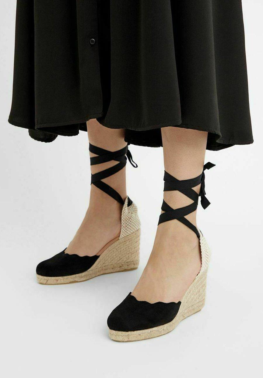 Femme BIADEMI TIE STRAP  - Sandales à plateforme