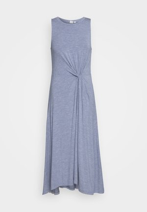 KNOT WAIST - Jersey dress - blue heather