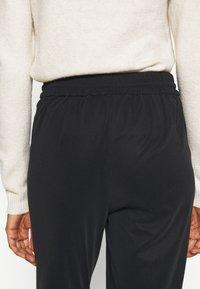 Vero Moda Tall - VMEVA LOOSE STRING SOFT PANT  - Trousers - black - 3