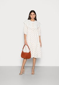 Love Copenhagen - DOTTA DRESS - Skjortekjole - white - 1