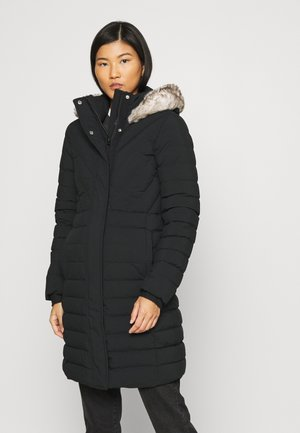 LONG PUFFER - Down coat - black