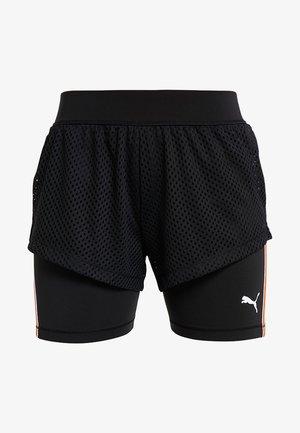PERFORMANCE SHORTS - Krótkie spodenki sportowe - black