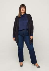Zizzi - Cardigan - dark blue - 1