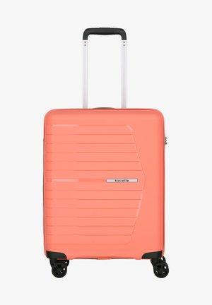 NUBIS - Wheeled suitcase - koralle