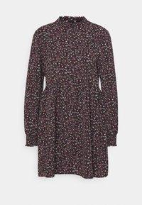 PIPER  - Day dress - black/pink