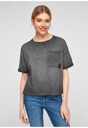 T-shirt basic - faded black