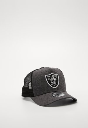 SHADOW TECH AFRAME TRUCKER - Lippalakki - grey heather