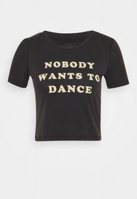 DUA LIPA X PEPE JEANS - Print T-shirt - black