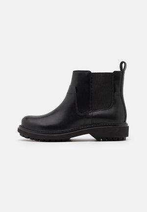 ASHEELY - Kotníkové boty na platformě - black
