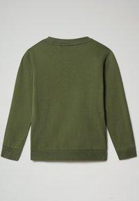 Napapijri - BALIS CREW - Sweatshirt - green cypress - 1