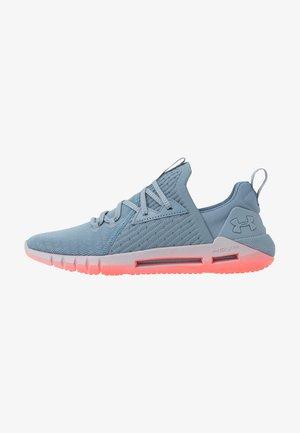HOVR SLK EVO - Neutral running shoes - ash gray/beta red