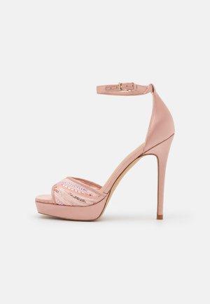 WICOETHIEL - Platform sandals - light pink